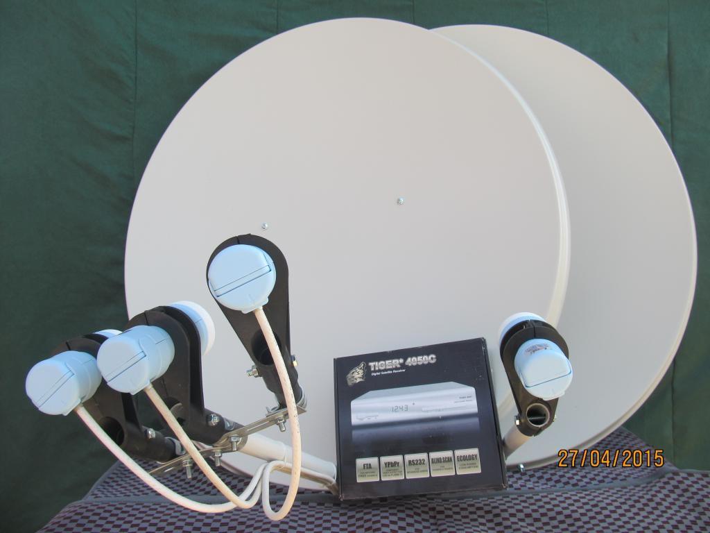 Расширенный комплект спутниковой антенны. Установка в Харькове.