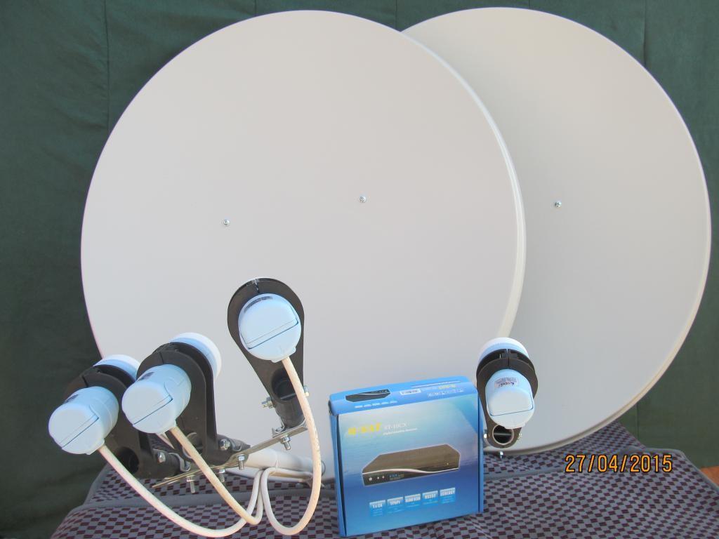 XTRA TV расширенный комплект спутниковой антенны. Установка в Харькове.