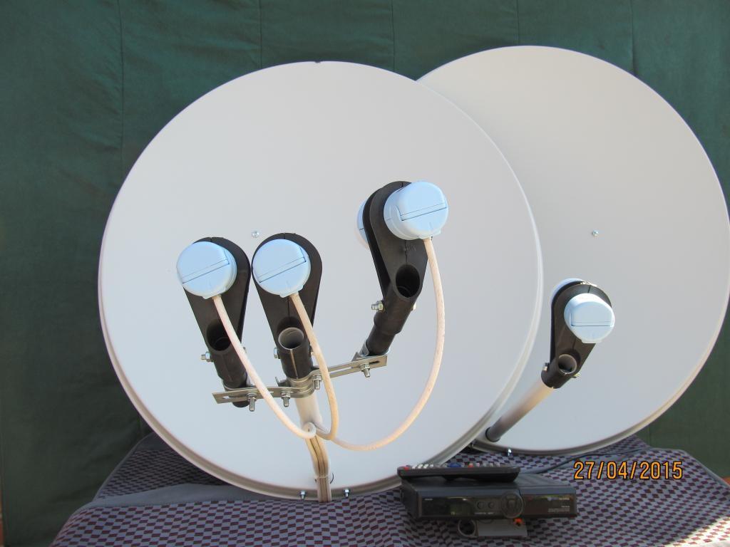 НТВ ПЛЮС комплект спутниковой антенны. Установка в Харькове.
