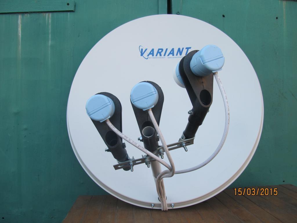 Установка и ремонт спутниковой антенны (тарелки).