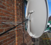 Ремонт сутниковых антенны в Харькове