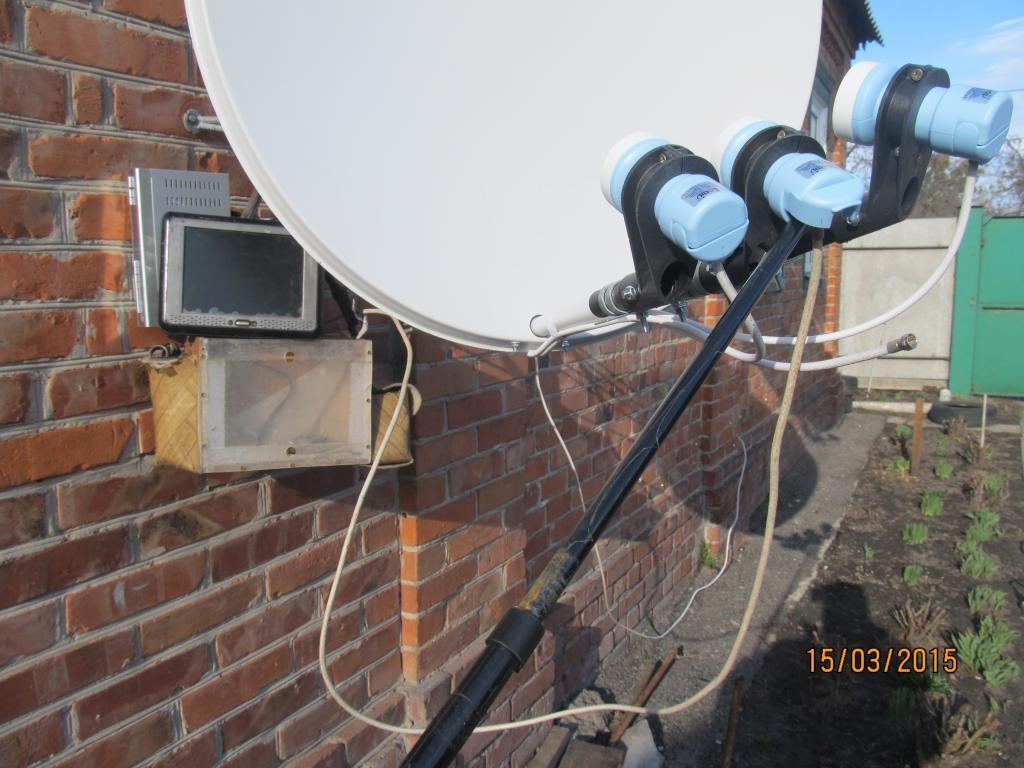 Самостоятельная регулировка и установка спутниковой антенны